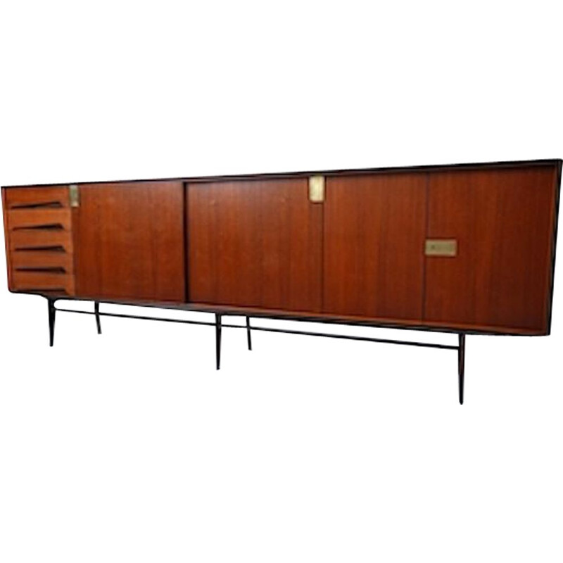 Vintage Sideboard By Vittorio Dassi Italy 1950s
