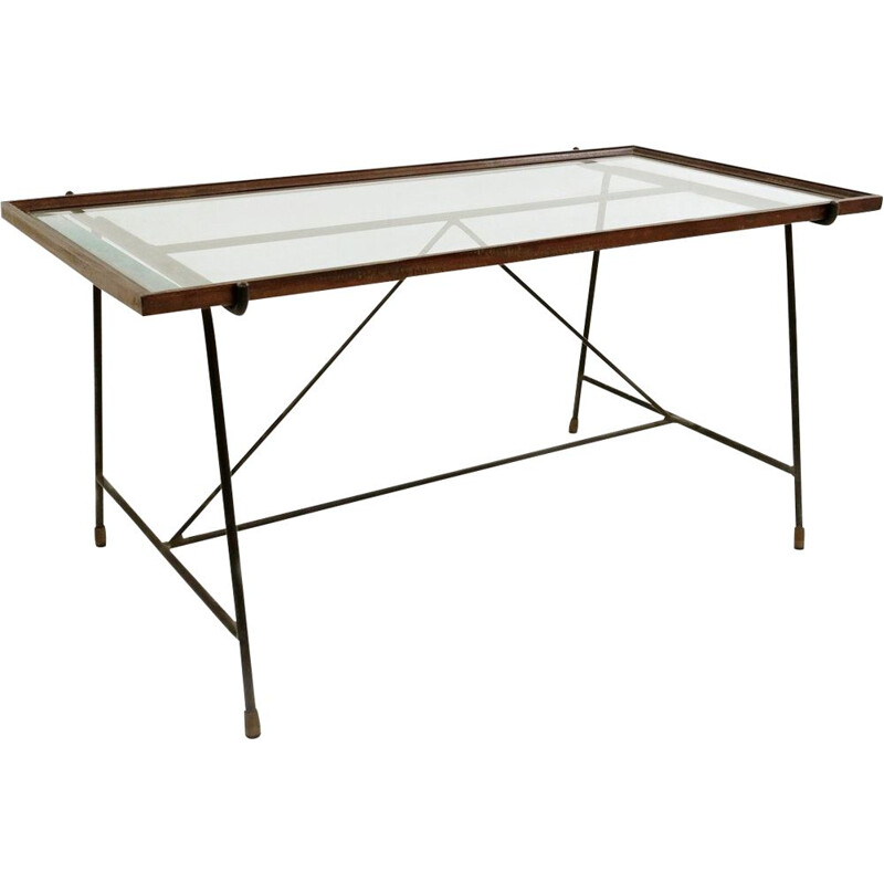Vintage coffee Table By Augusto Bozzi For Saporiti