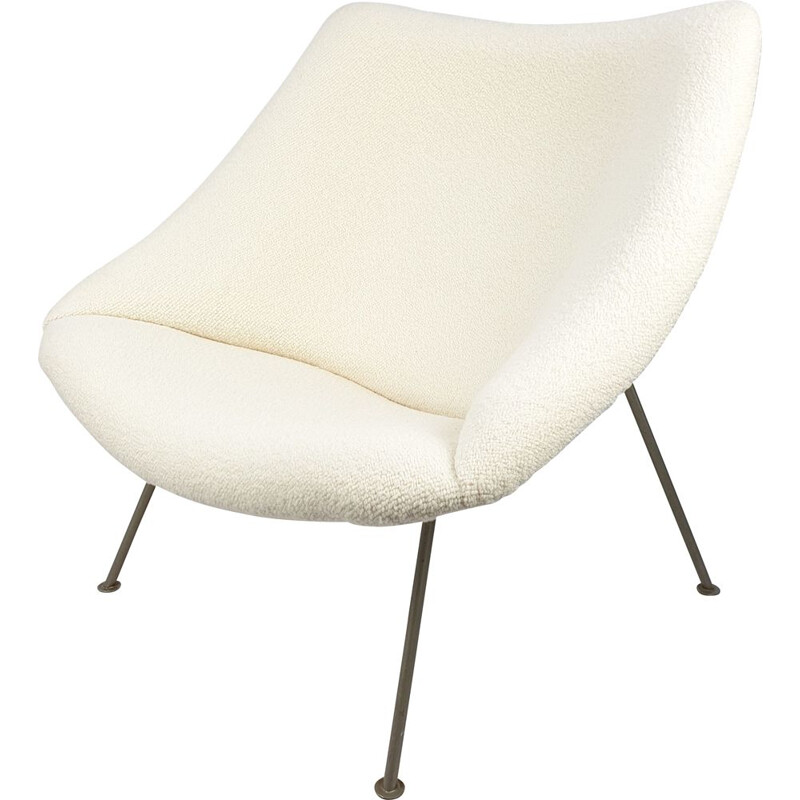 Vintage Oyster Lounge Chair by Pierre Paulin for Artifort 1960s