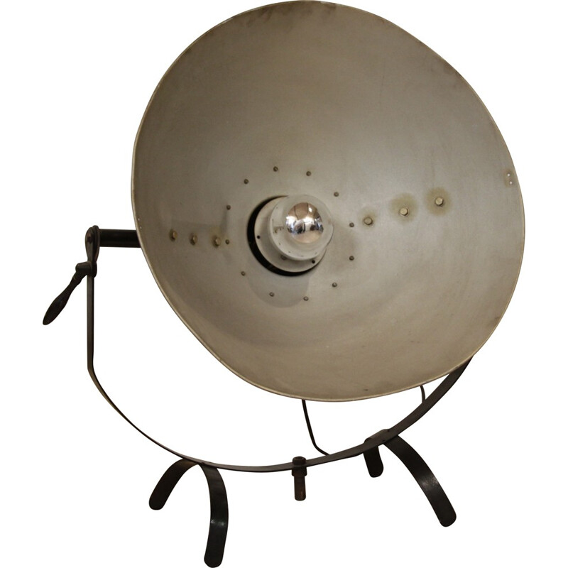 K. Weinert Berlin Lamp in metal - 1930s