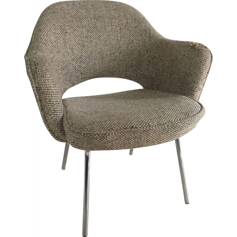 Vintage Conference Armchair by Knoll 1970s