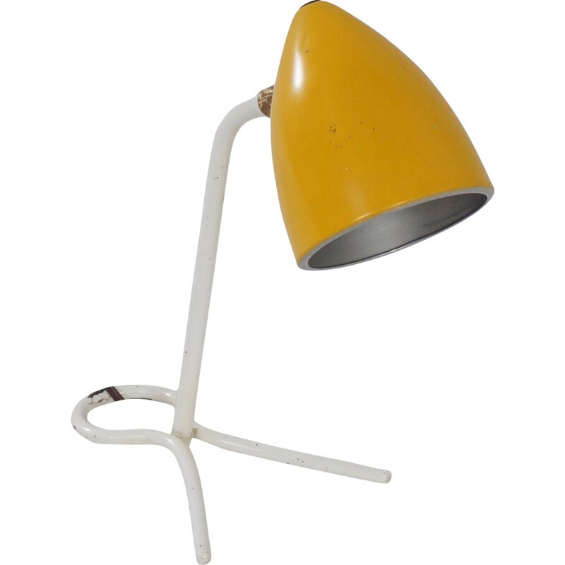Vintage Wall Lamp by Busquet for Hala 1950s
