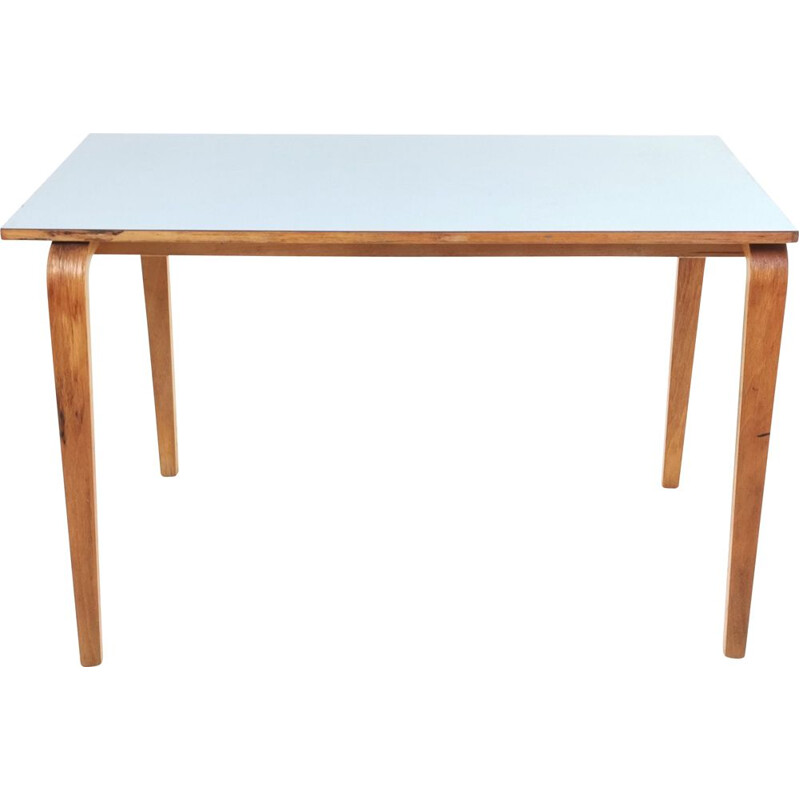 Mid Century School Desk Table By James Leonard For Esavian