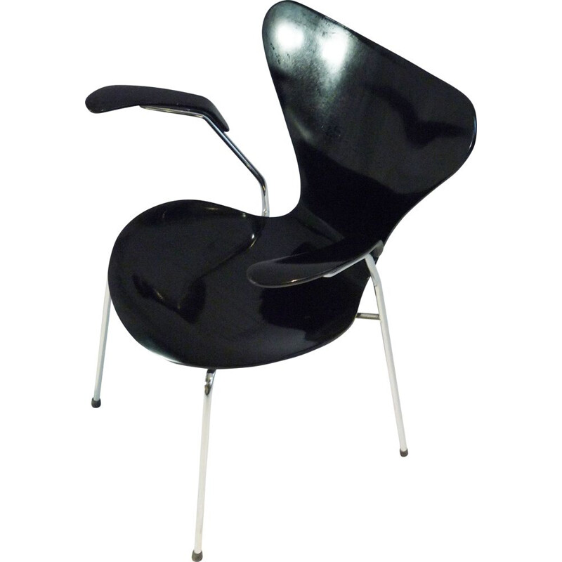 Vintage chair mod. 3207 Arne Jacobsen