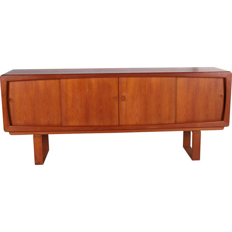 Vintage sideboard with sliding doors by H.W. Klein, Denmark 1960