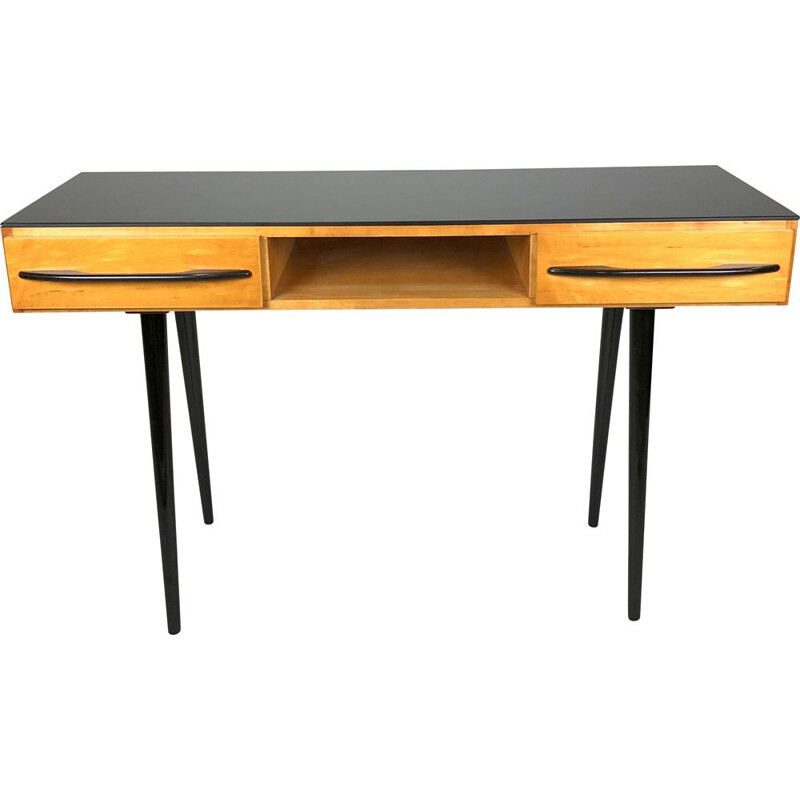 Vintage console by Mojmir Pozar for UP Zavody, Czechoslovakia 1960