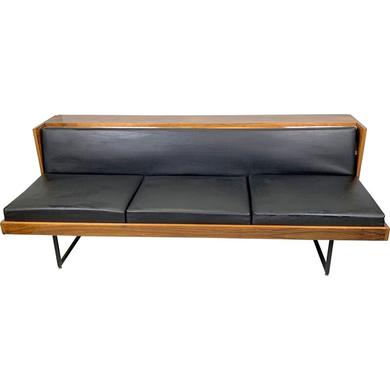 Vintage adjustable sofa, Czechoslovakia 1970
