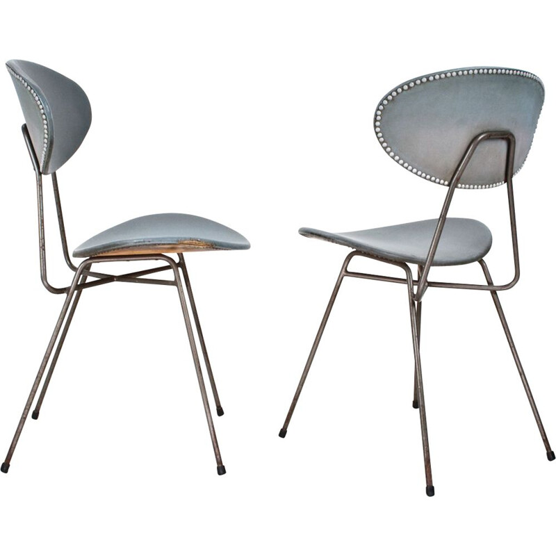 Pair of vintage Staatsmijnen chairs by Rob Parry 1955s