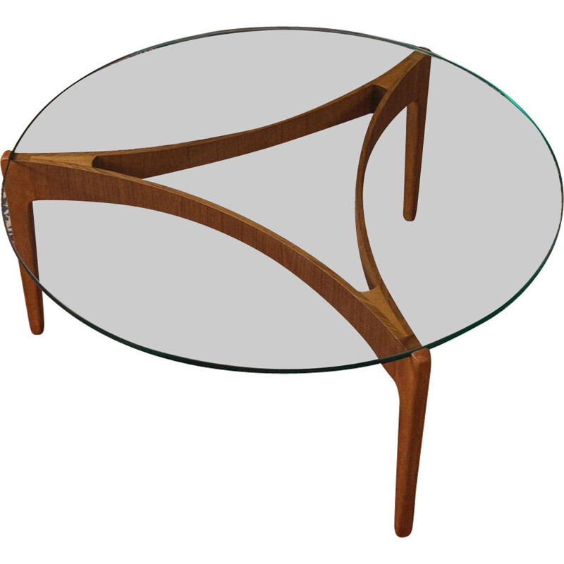 Vintage coffee table Sven Ellekaer 1960s