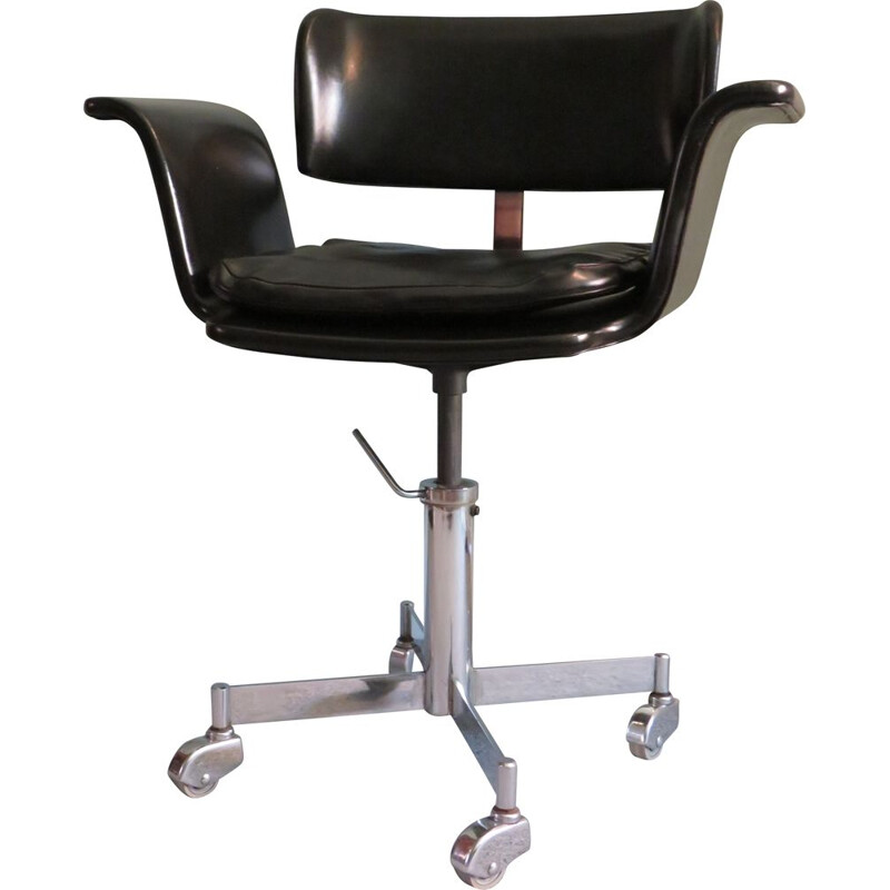 Vintage desk chair swivel chair