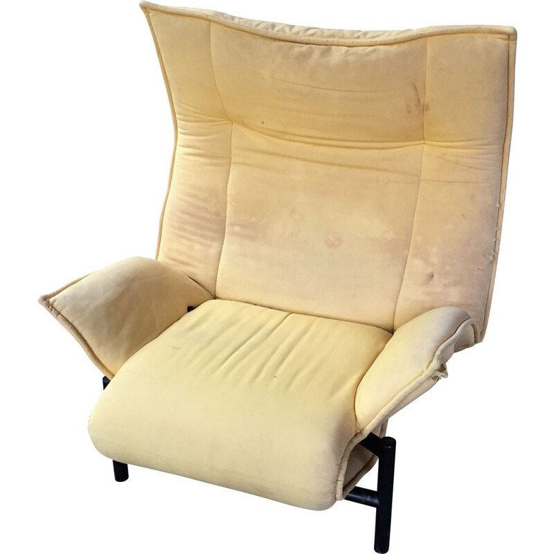 Vintage armchair Veranda by Vico Magistretti for Cassina 1983