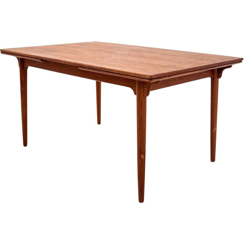 Vintage Dining table in teak Denmark 1960s