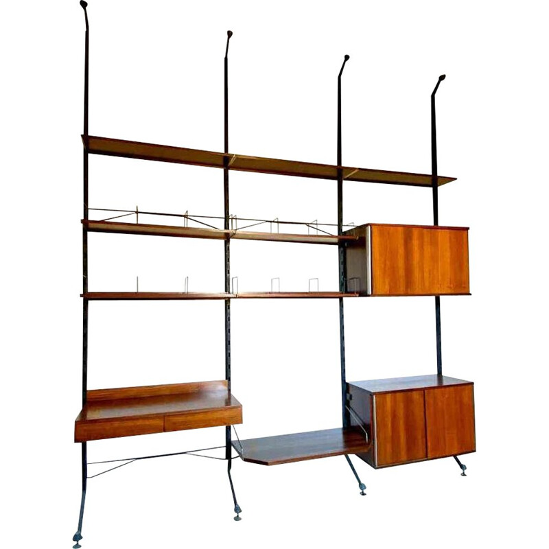 Mid-Century Modern Bookcase by Ico Parisi for MIM Rome 1958s