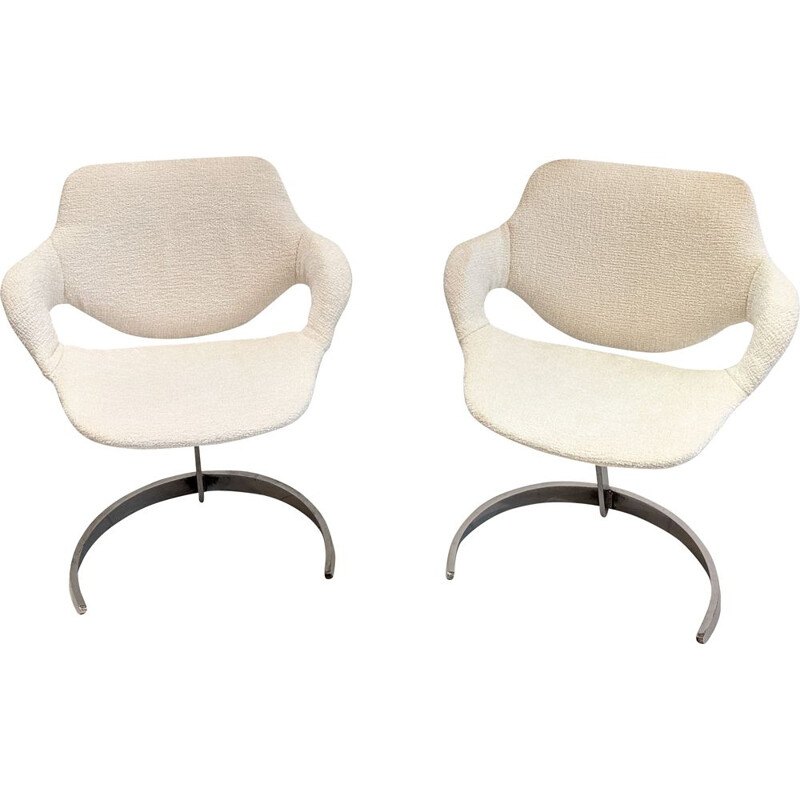 Pair of vintage chairs Boris Tabacoff