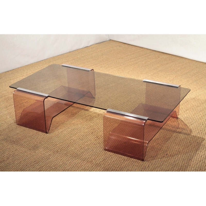 table basse plexiglass great table basse olica design didier versavel with table basse. Black Bedroom Furniture Sets. Home Design Ideas