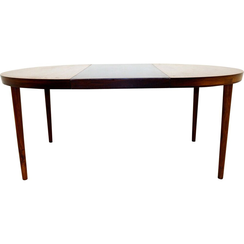 Vintage rosewood dining room table Denmark 1960s