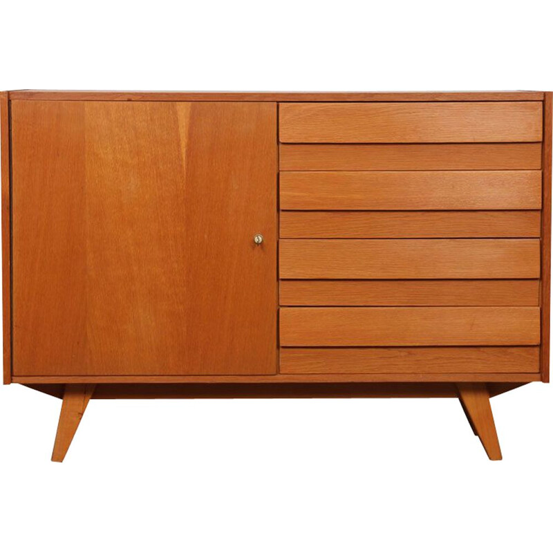Vintage chest of drawers by Jiri Jiroutek for Interier Praha 1960s