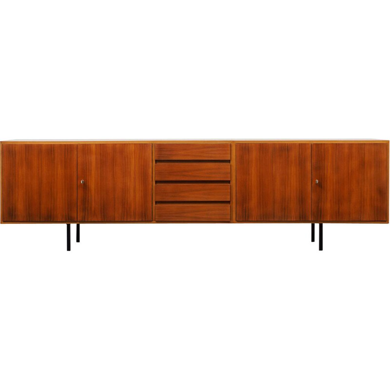Large vintage sideboard walnut 1960s