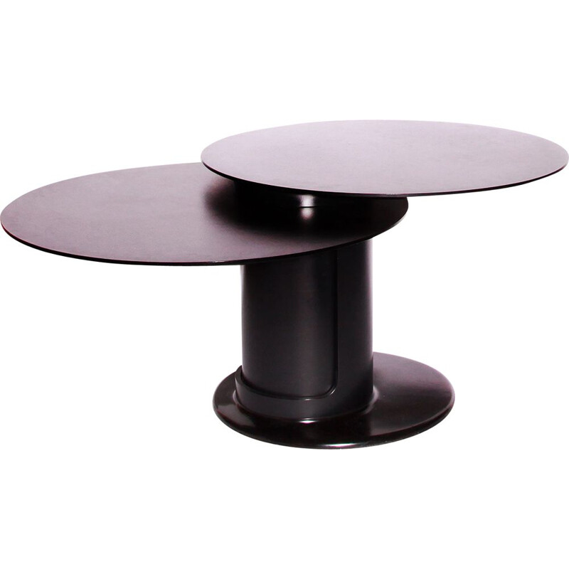Pair of vintage Swivel Table Tops Dining Room Table By Erwin Nagel For Rosenthal 1980s