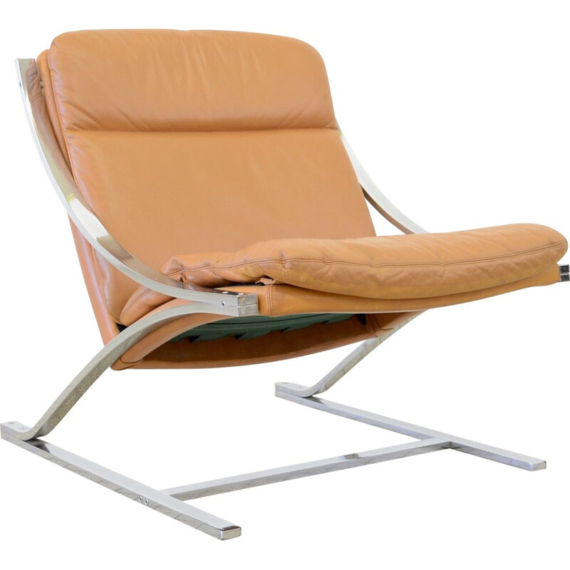 Vintage Strässle International Zeta lounge chair by Paul Tuttle 1968s