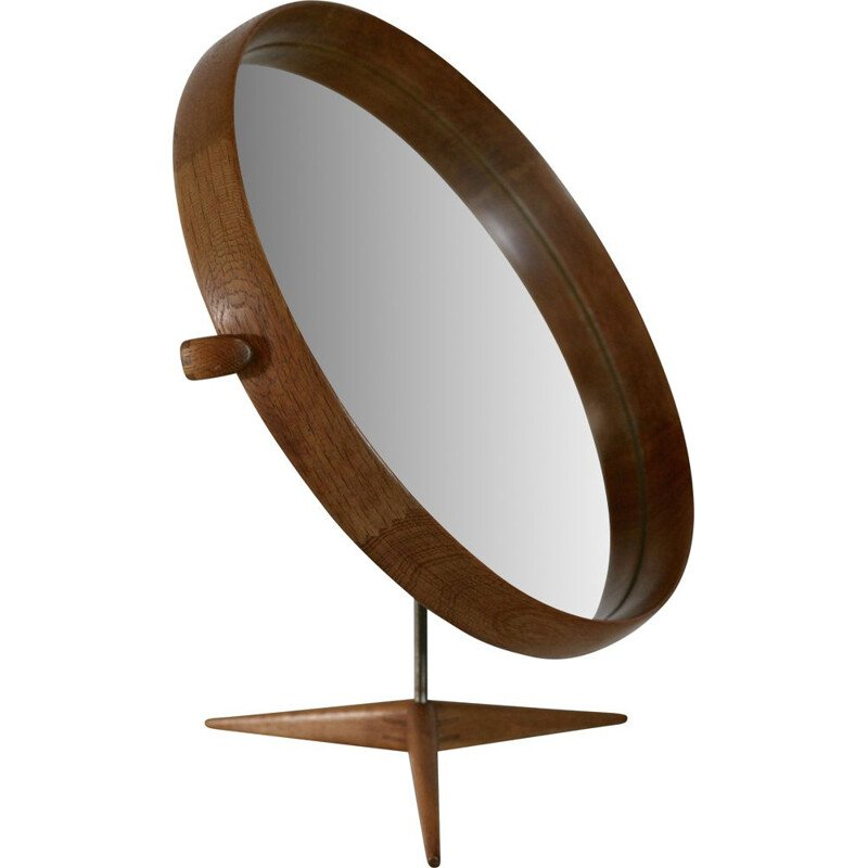 Vintage mirror of Uno and Osten Kristiansson Luxus Sweden 1960s