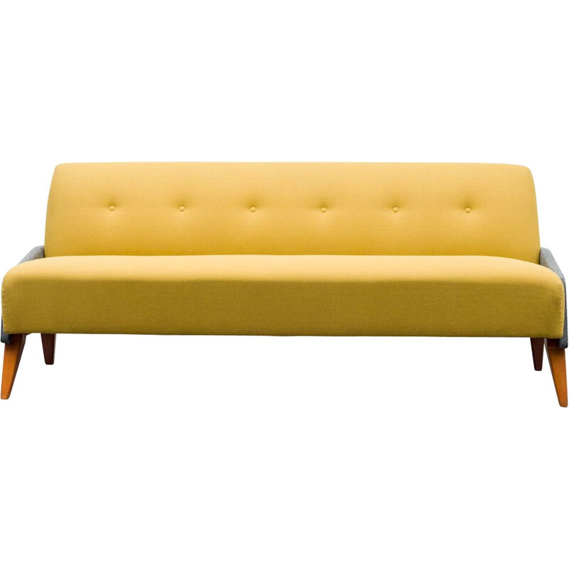 Vintage sofa daybed two-toned 1950s