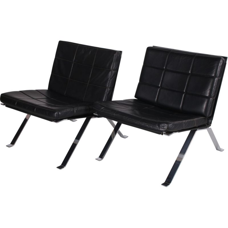 Pair of vintage armchairs by H. Eichenberger Girsberger 1960s