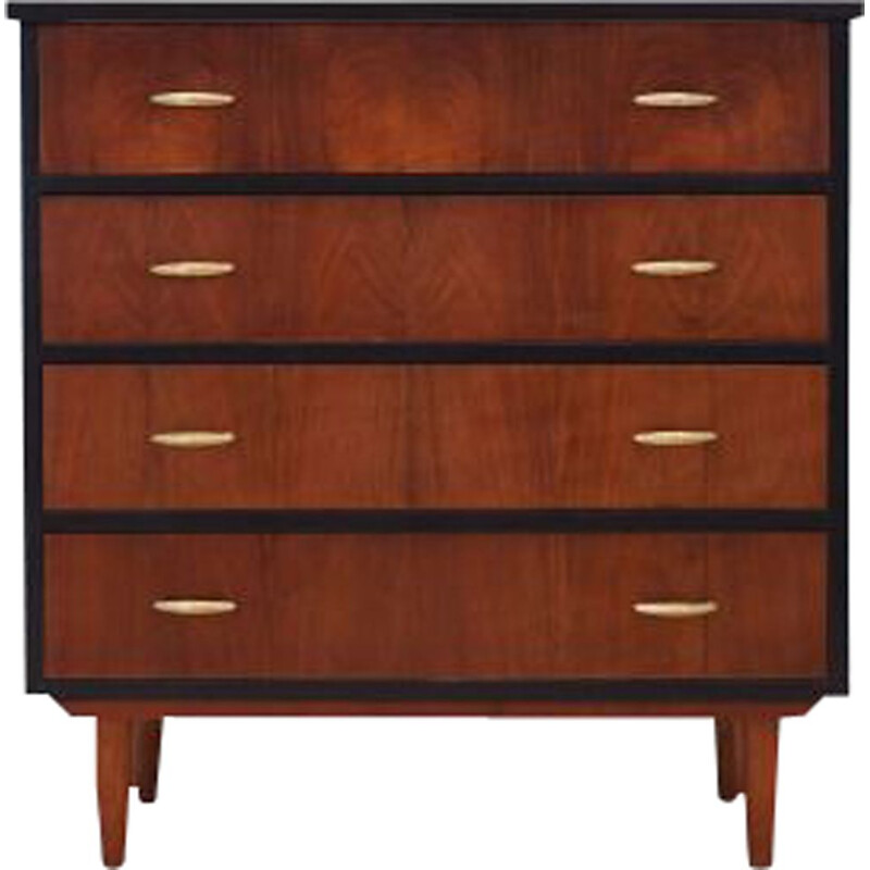Vintage Chest of drawers exotic wood Denmark 1970s