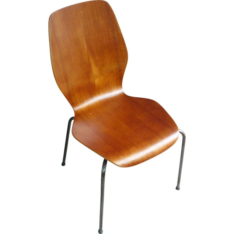 Vintage Danish teak chair 1950s