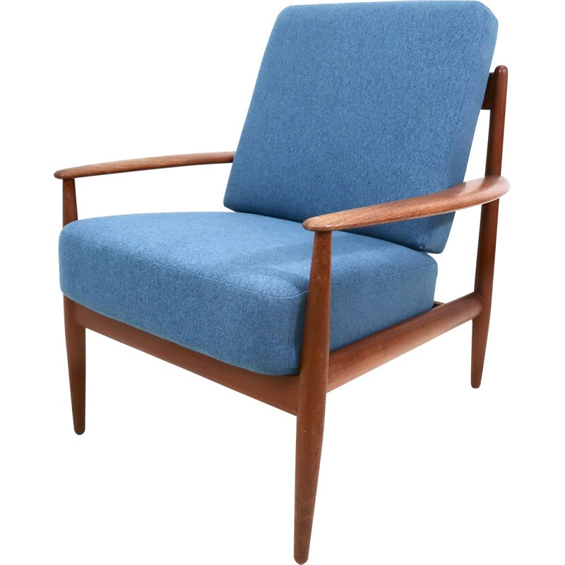 Mid-Century Armchair by Grete Jalk for France & Son 1960s
