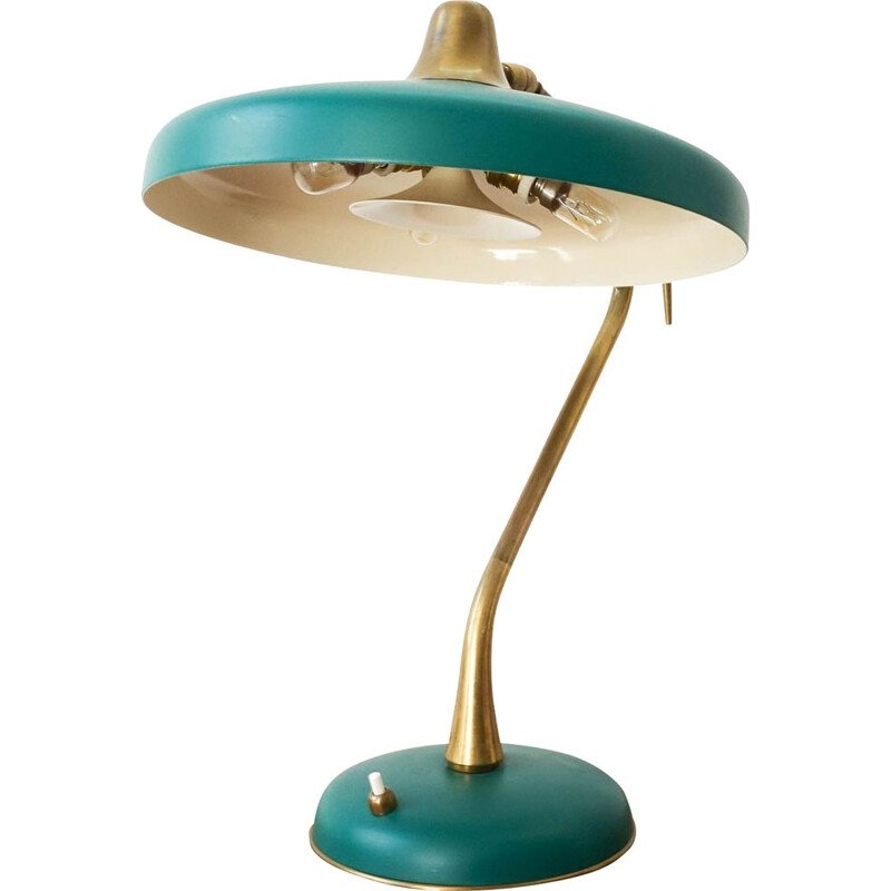 Vintage table lamp for LUMI Milano,Oscar Torlasco 1950s