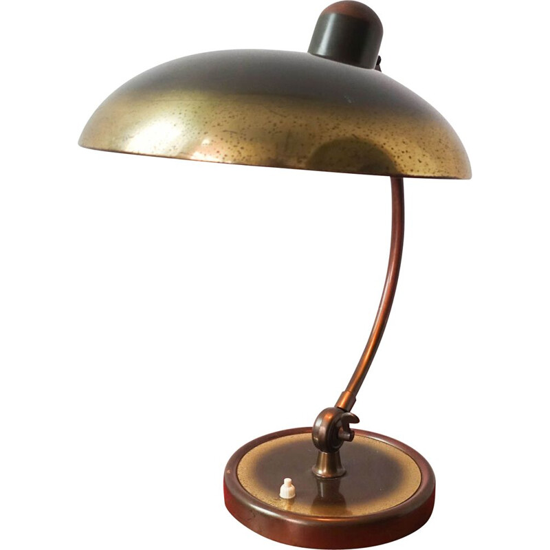 Vintage 6631-T Luxus Table Lamp by Christian Dell Kaiser Idell 1950s