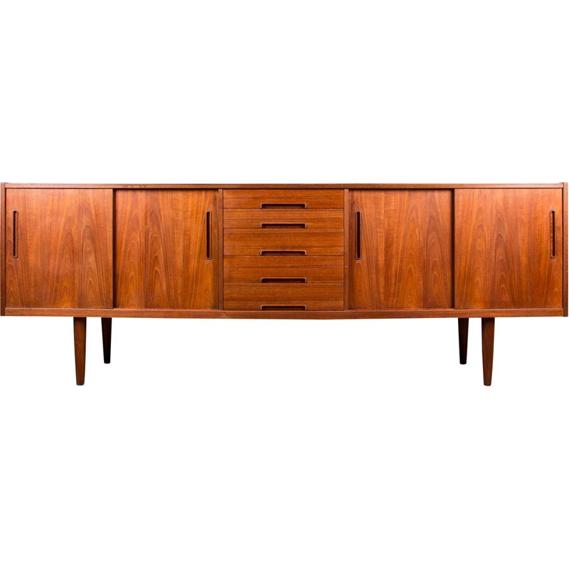 Vintage teak sideboard, Gigant model, by Nils Jonsson for Troeds, Sweden 1960