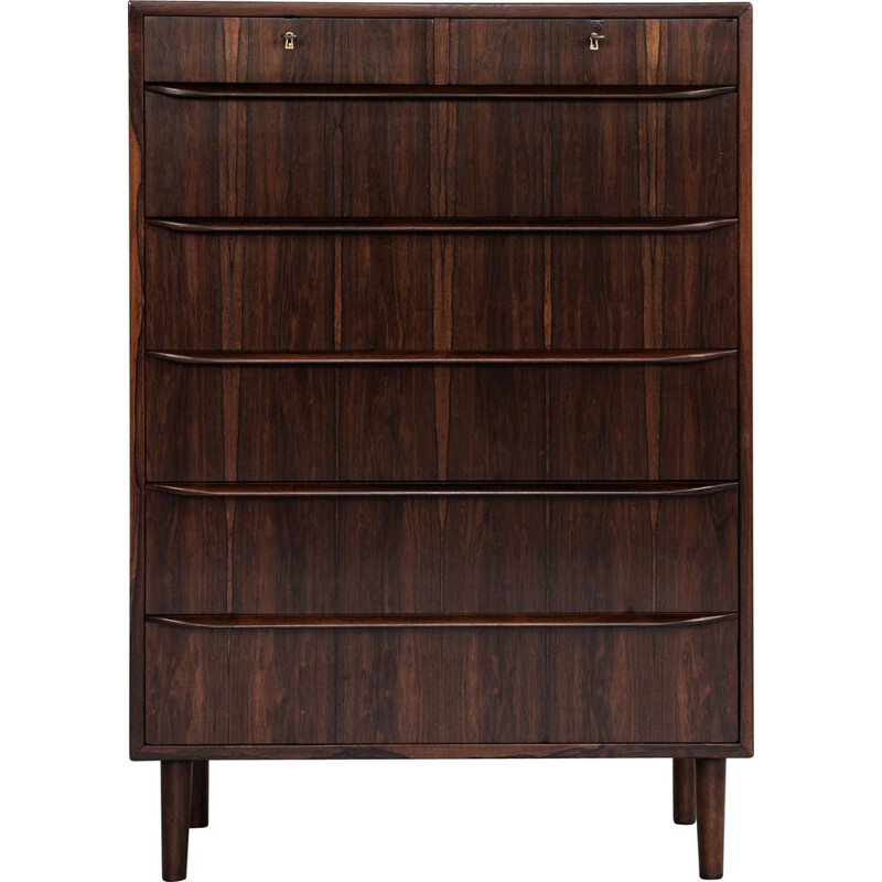 Vintage rosewood chest of drawers, Denmark 1960