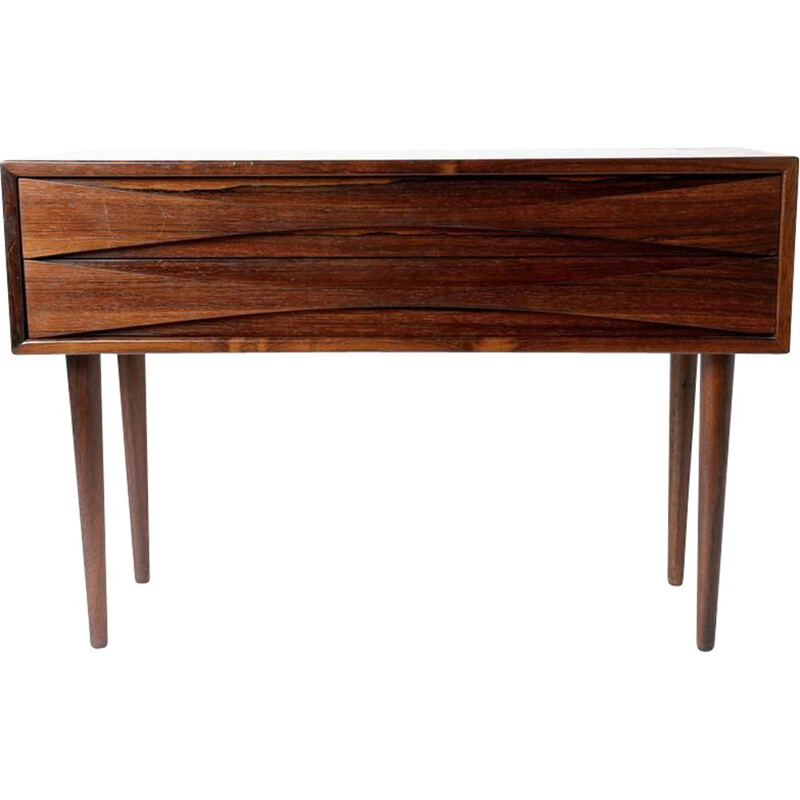 Vintage rosewood chest of drawers by Arne Vodder Danish 1960