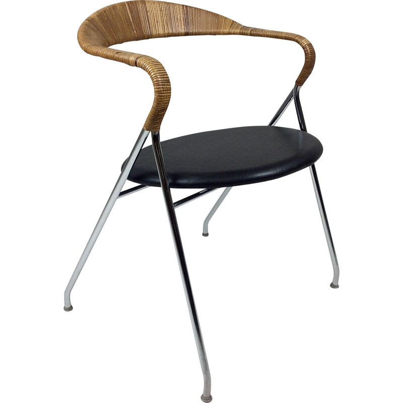 Vintage chair, model Saffa HE-103, by Hans Eichenberger for Dietiker, Switzerland 1955