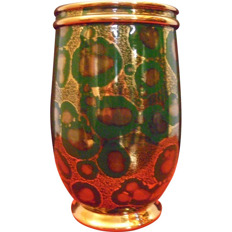 Vintage vase of Mazeaud and Faverot 1950s