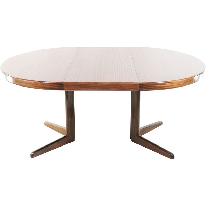 Vintage dining table by Henry W Klein for Bramin, Danish 1960