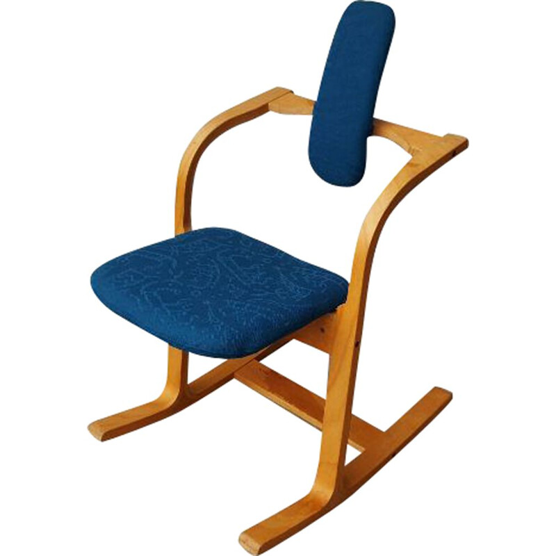 Vintage Chair by Peter Opsvik for Stokke 1983s