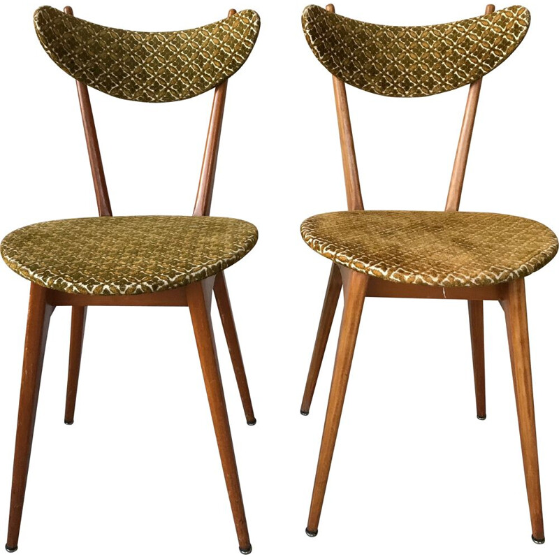 Pair of vintage chairs 1950s