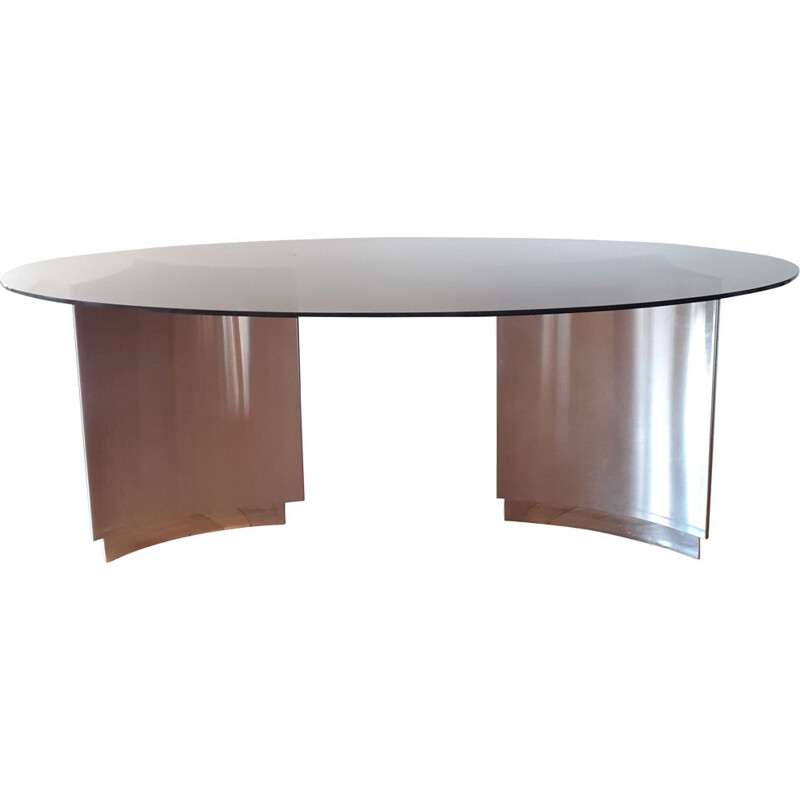 Large vintage table for 8 persons 1970s