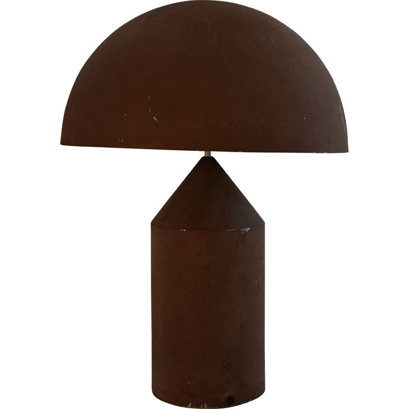 Vintage Atollo lamp by Vico Magistretti for Oluce 1970s