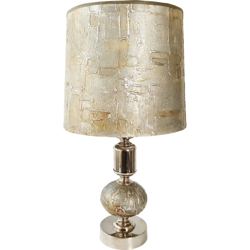 Vintage table lamp 1970s
