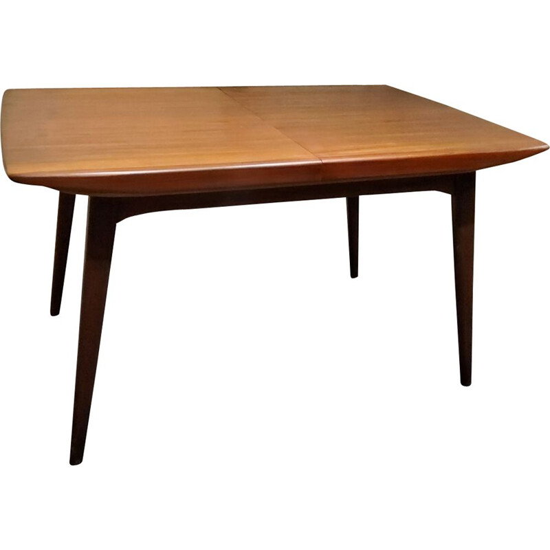 Vintage table by Louis van Teeffelen for WeBe 1950