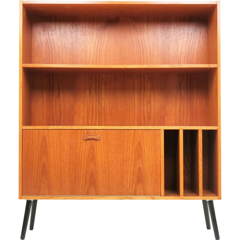 Vintage teak bookcase by Clausen & Son, Denmark 1970