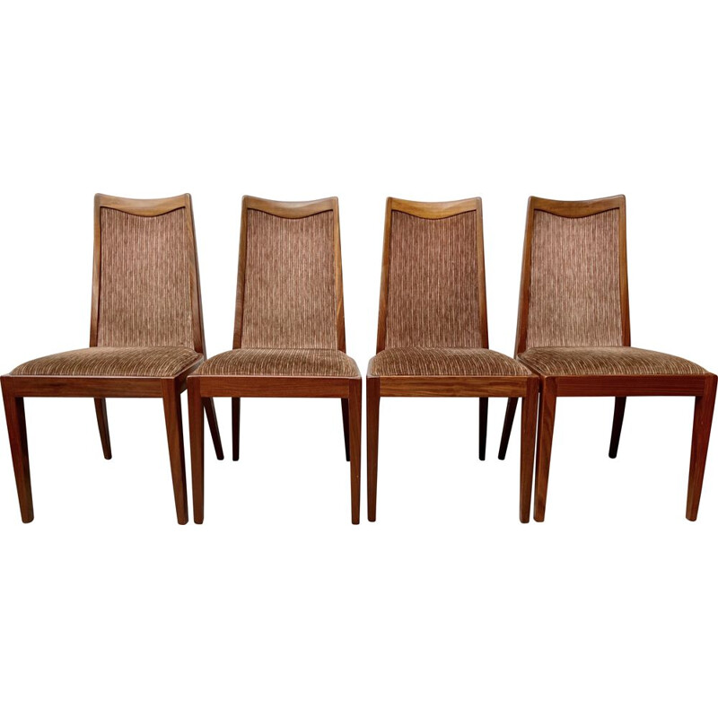 Set of 4 vintage G Plan Dining Chairs Teak