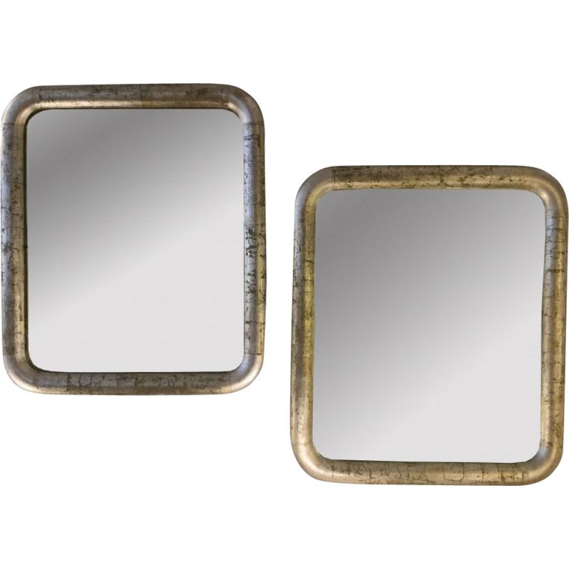 Pair of vintage mirrors Art Deco period 1925s