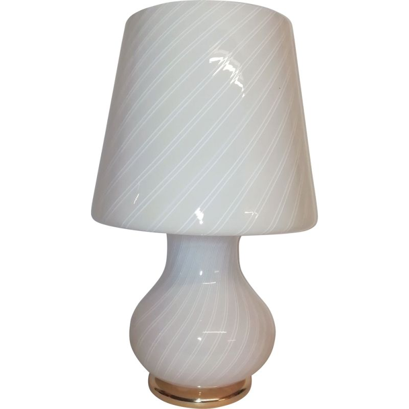 Vintage Murano glass table lamp 1970