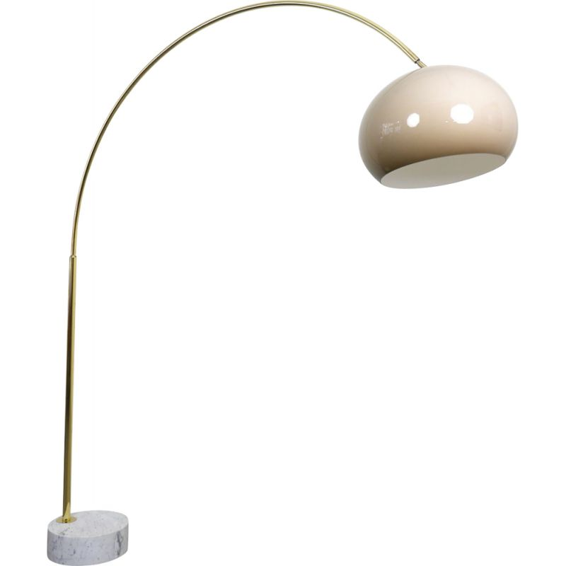 Vintage Arc Lamp With Marble Base Germany 1970s