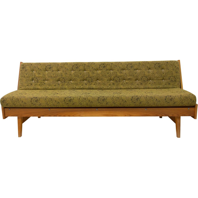 Mid century folding sofabed Czechoslovakia 1960s